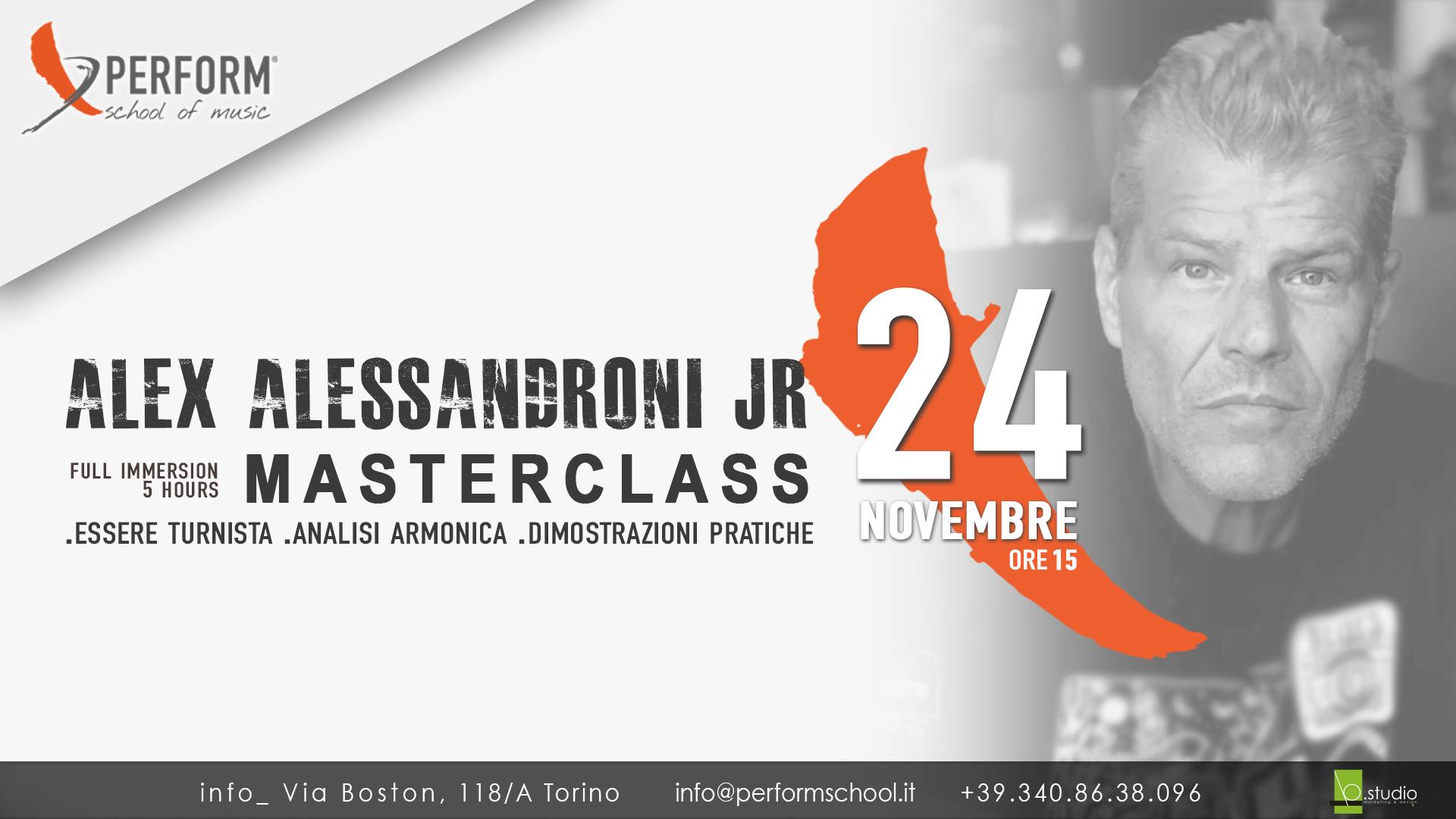 Masterclass Alex Alessandroni Jr