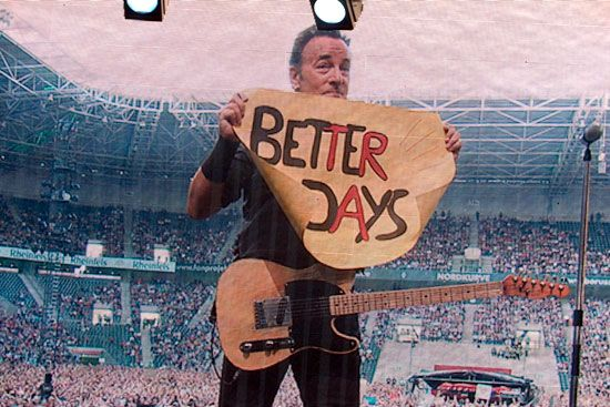 Better Days Bruce Springsteen