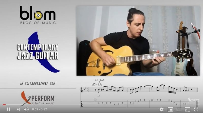 Contemporary Jazz Guitar - Alessandro Liccardo - Lesson 1